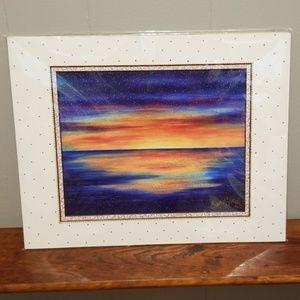 Sunset artwork print